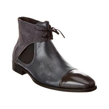 Mezlan Leather Boot - Grey