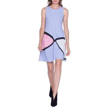 Sleeveless Wink Print Dress