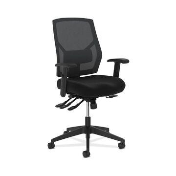 HON Crio High-Back Task Chair for Office Desk, Black (BSXVL582) (Mesh)