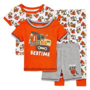 Rene Rofe Boys Club 4-pc. Pajama Set Toddler Boys