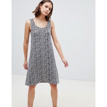 Ichi Printed Tank Dress