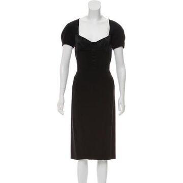 2013 Satin Dress Black
