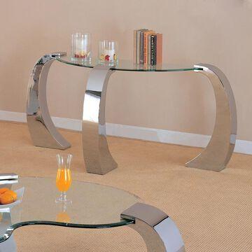 Coaster Company Silver Sofa Table