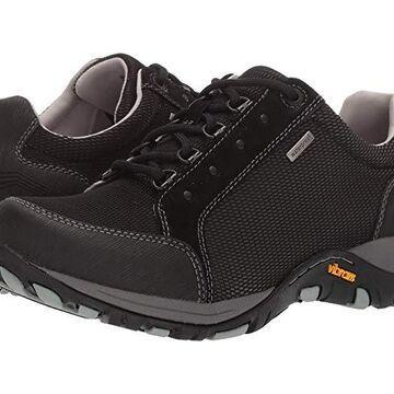 Dansko Peggy (Black Suede) Women's Shoes