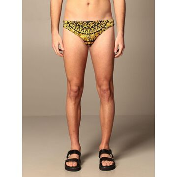 Versace Swimsuit Versace Swimsuit With Baroque Pattern