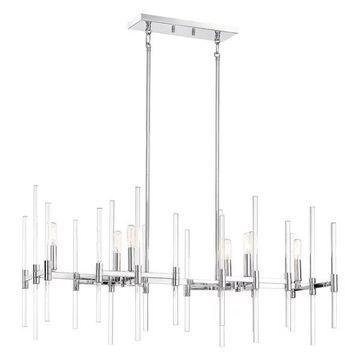 Minka Lavery Pillar 6-Light Chrome Island Light