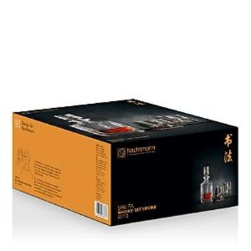Riedel Nachtmann Shu Fa Smoke Whiskey Decanter & Glass Set