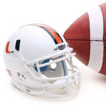 Miami Hurricanes Schutt Mini Helmet
