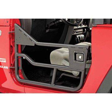 Bestop 51826-01 Wrangler 2-Door/4-Door Highrock 4X4 Element Doors Front, Black