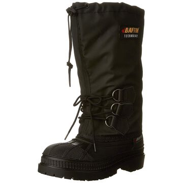 Baffin Women's OilRig Canadian Made Industrial Boot,Black,6 M