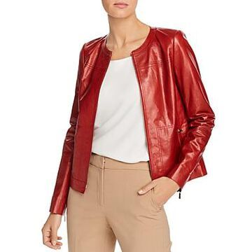 Lafayette 148 New York Juno Leather Jacket