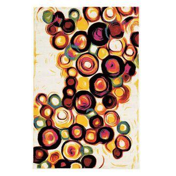 Linon Masters Multi-Colored Rug, Multicolor, 5X7.5 Ft