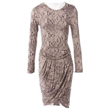 By Malene Birger Brown Viscose Dresses
