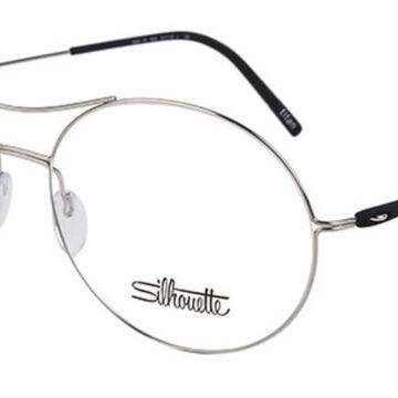 Silhouette 5508 7000 Men's Glasses Silver Size 52 - Free Lenses - HSA/FSA Insurance - Blue Light Block Available