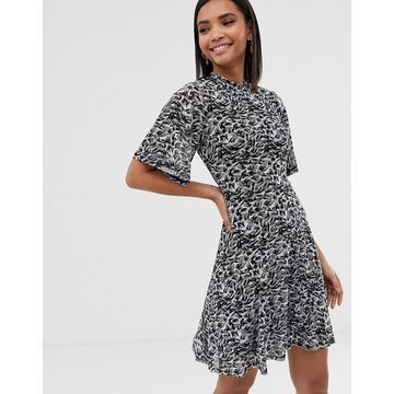 Y.A.S animal print dress