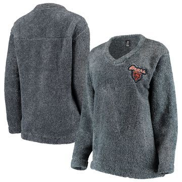 Chicago Bears Concepts Sport Women's Trifecta Pullover Sweatshirt Charcoal