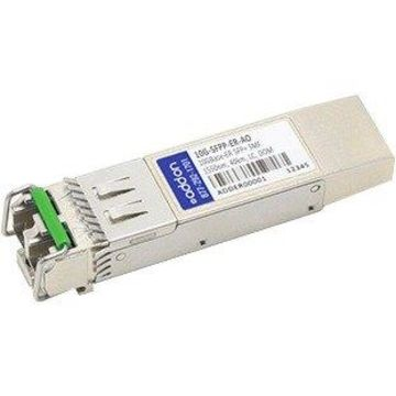 AddOn Brocade 10G-SFPP-ER Compatible TAA Compliant 10GBase-ER SFP+ Transceiver (SMF, 1550nm, 40km, LC, DOM) - 100% compatible and guaranteed to work