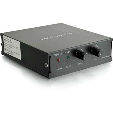 C2G TruLink Audio Amplifier (Plenum Rated) - 1% THD - 150 Hz to 20 kHz