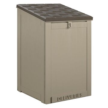 Cosco 6.3 Cu. Ft. Outdoor Living BoxGuard Large Lockable Package Deliv
