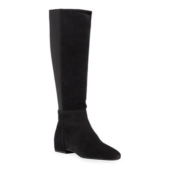 Uva Weatherproof Suede Gored Tall Boots