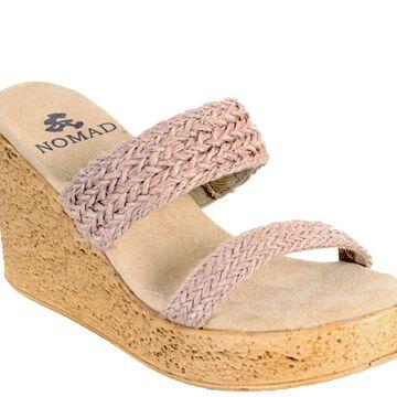 Nomad Wedge Slide Sandals - Newport