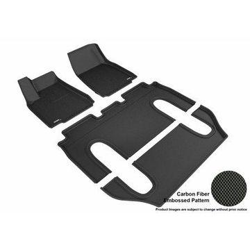 3D MAXpider TESLA MODEL X 2016-2017 KAGU BLACK R1 R2 R3