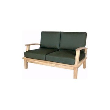 Anderson Teak DS-102 Brianna Deep Seating Loveseat with Cushion