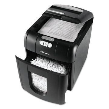 SWINGLINE Stack-and-Shred 100XL Auto Feed Super Cross-Cut Shredder Value Pack