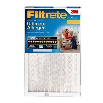Filtrete 12x24x1, Healthy Living Ultimate Allergen Reduction HVAC Furnace Air Filter, 1900 MPR, 1 Filter
