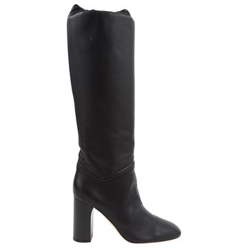 Loro Piana Black Leather Boots