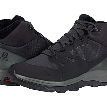 Salomon Outsnap CSWP (Black/Urban Chic/Black) Men's Shoes