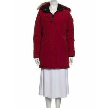 Victoria Down Coat Red