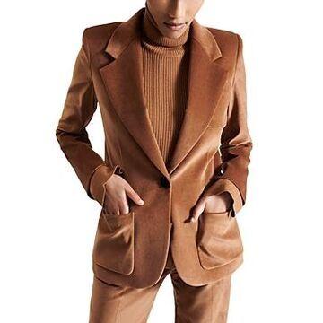 Barbara Bui Tailored Velvet Blazer