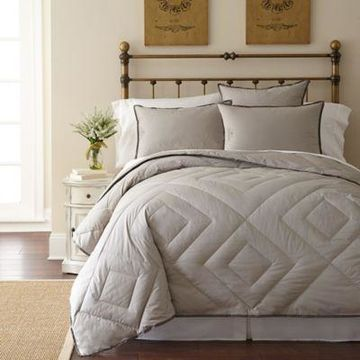 Pendleton Vintage Wash PrimaLoft Queen Comforter in Grey