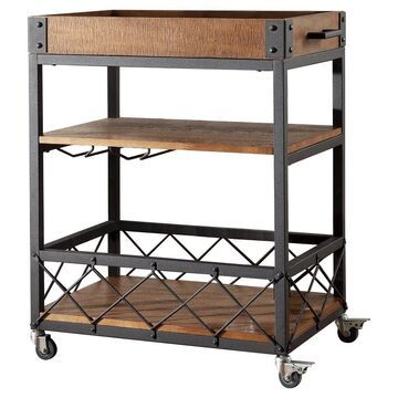 Ronay Industrial Bar Cart - Inspire Q