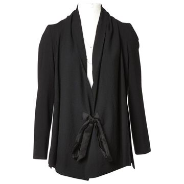 Rick Owens Black Polyester Jackets