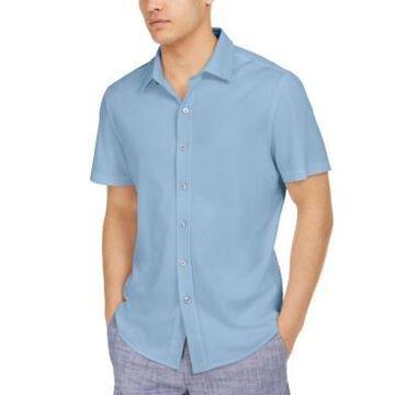 Tasso Elba Men's Solid Knit Shirt, Created for Macy's