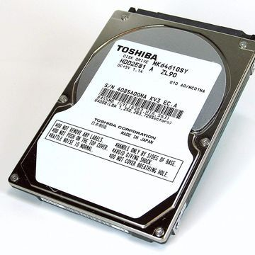 Toshiba 320GB 7200rpm SATA 2.5 Inch Internal Laptop Hard Drive - MK3261GSY