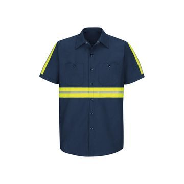 Red Kap Short Sleeve Visibility Shirt
