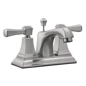 Design House 521997 Torino Centerset Bathroom Faucet, Satin Nickel