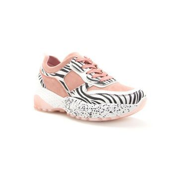 Qupid Terrace 08a Lace-up Womens Sneakers