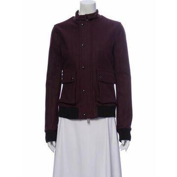 Virgin Wool Utility Jacket Black