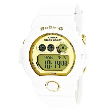 Casio Women's Baby-G BG6901-7 White Plastic Quartz Diving Watch