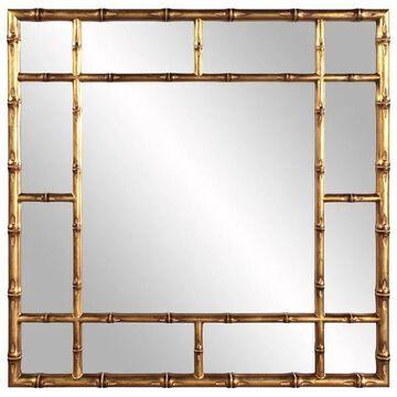 Howard Elliott Bamboo Gold Mirror