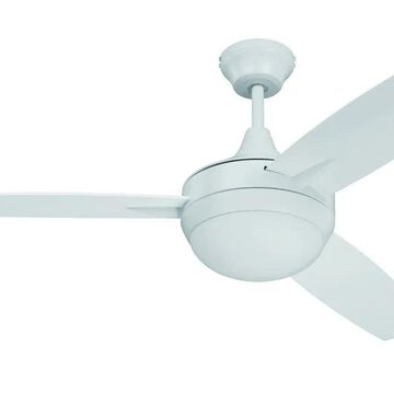 """Craftmade 52"""" Targas Ceiling Fan in White"""