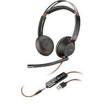 Plantronics Blackwire 5200 Series USB Headset Mini-phone Wired OTH Binaural