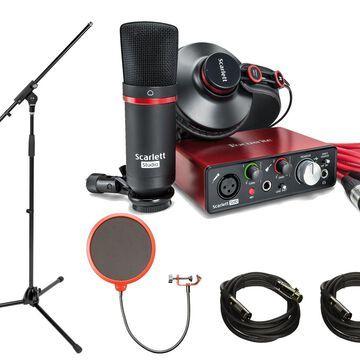 Focusrite Scarlett Solo Studio Pack 2nd Generation & Recording Bundle w/ Pro Tools