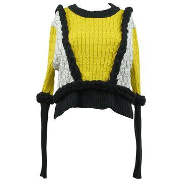 For Love & Lemons Yellow Cotton Knitwear