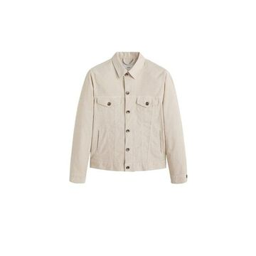MANGO MAN Micro corduroy jacket