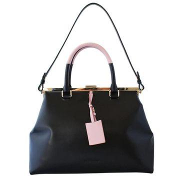 Jil Sander Black Leather Handbags
